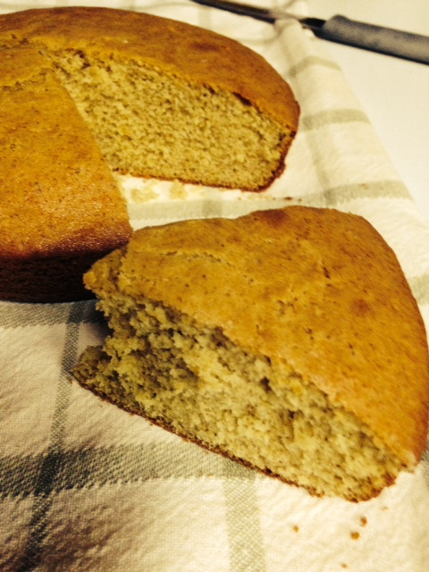 Sorghum Cake ready for butter