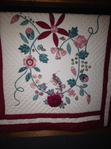 Hummingbird wallhanging