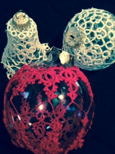 Ornaments with Tatting